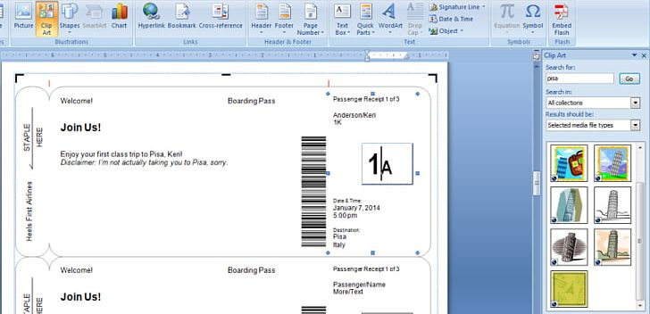 Airplane boarding pass clipart clipart freeuse Wedding Invitation Flight Boarding Pass Airline Ticket Template PNG ... clipart freeuse