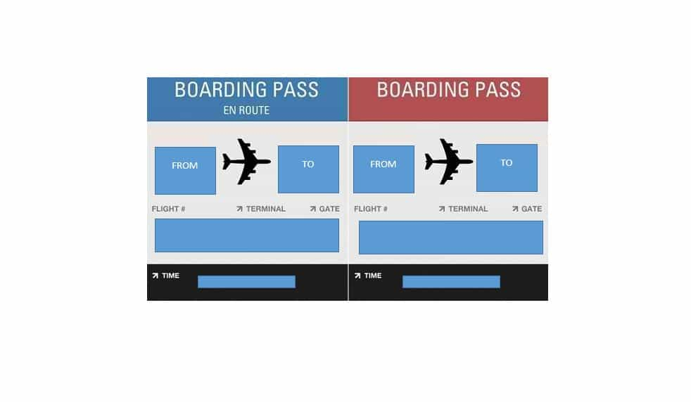 Airplane boarding pass clipart svg download 16 Real & Fake Boarding Pass Templates - 100% FREE ᐅ Template Lab svg download