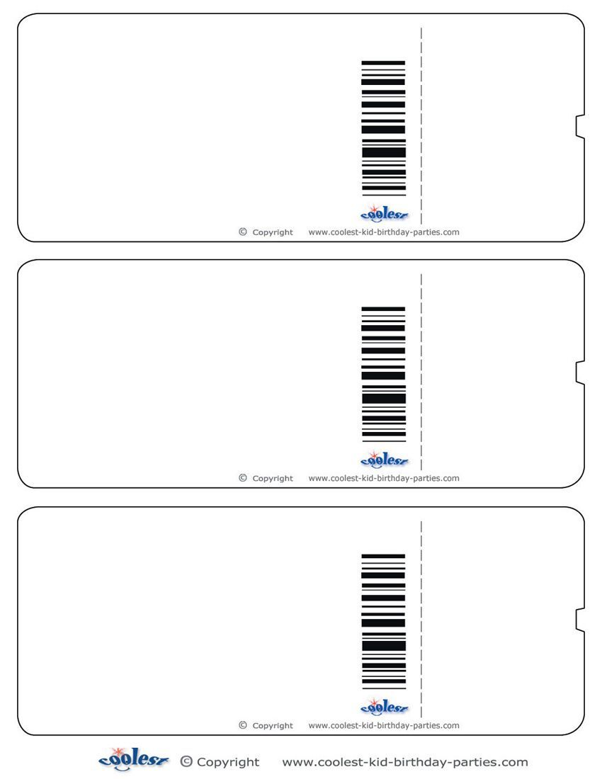 Airplane boarding pass clipart clip transparent Blank Printable Airplane Boarding Pass Invitations - Coolest Free ... clip transparent