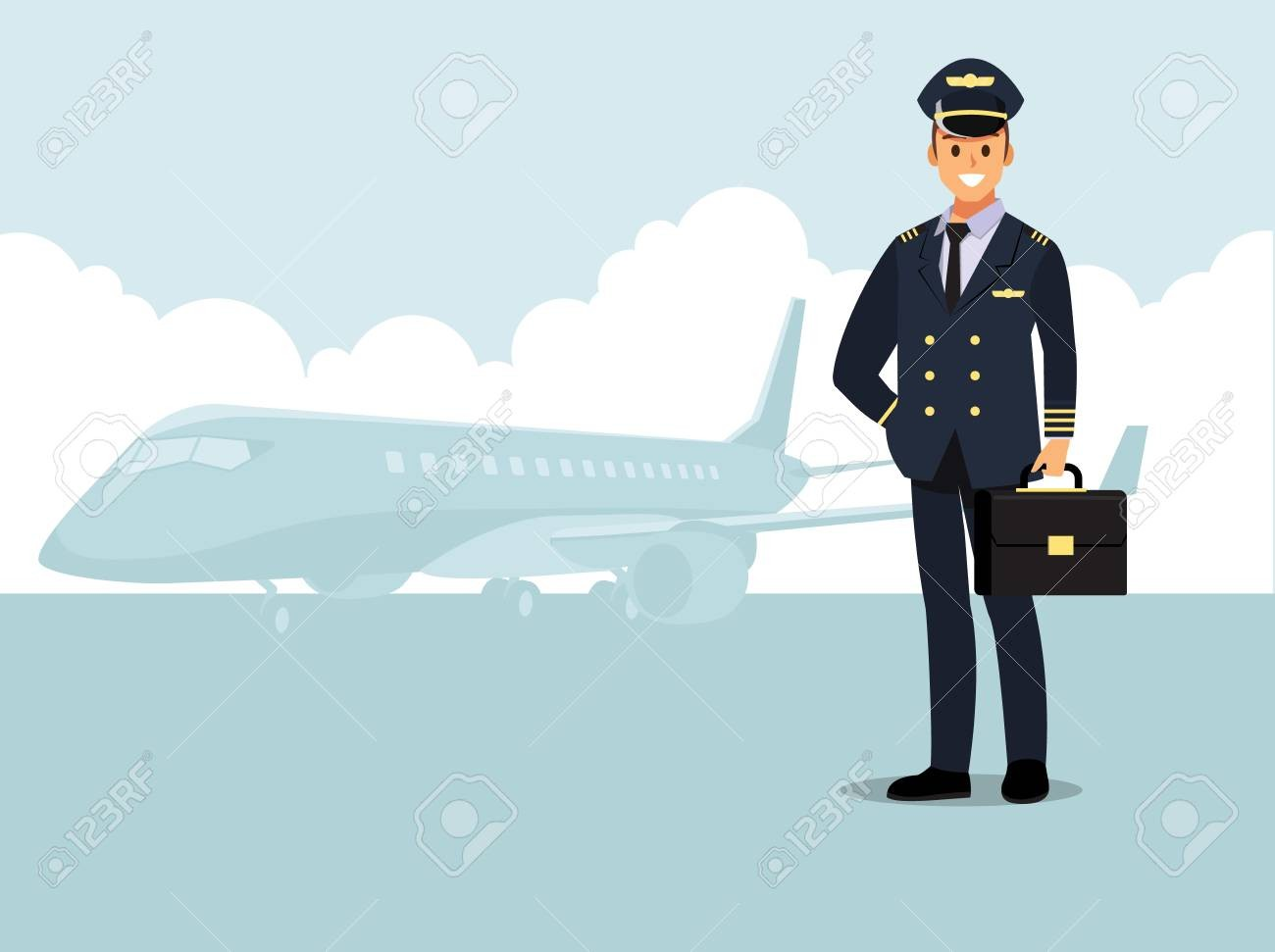 Airplane captain clipart download Within Clip Art Airplane Pilot Clipart Plane Captain 9 | Clip Art download