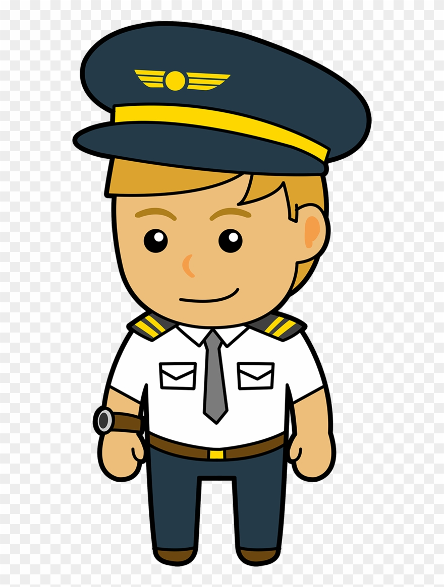 Airplane captain clipart picture free download Clipart Freeuse Download Clipart Pilot - Official: Best Gift For ... picture free download