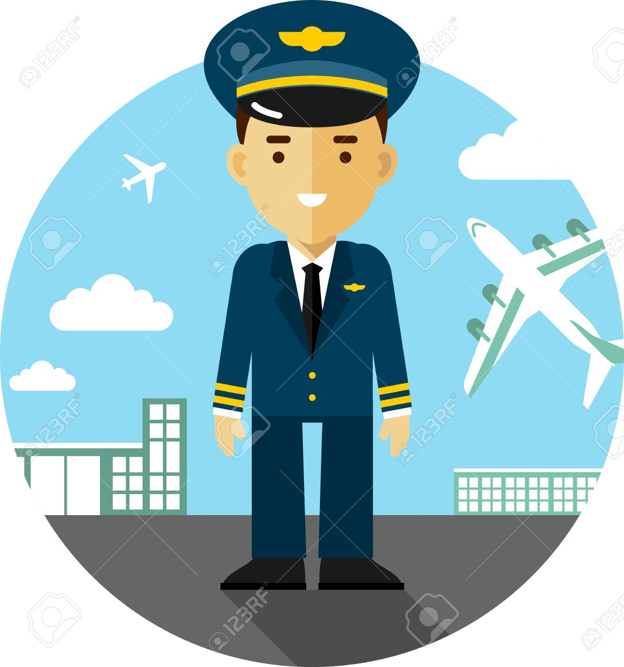 Airplane captain clipart svg download Collection of Pilot clipart | Free download best Pilot clipart on ... svg download
