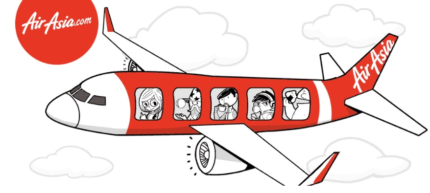 Airplane clipart across usa jpg library library AirAsia India expands its flight operations in India | Media India Group jpg library library