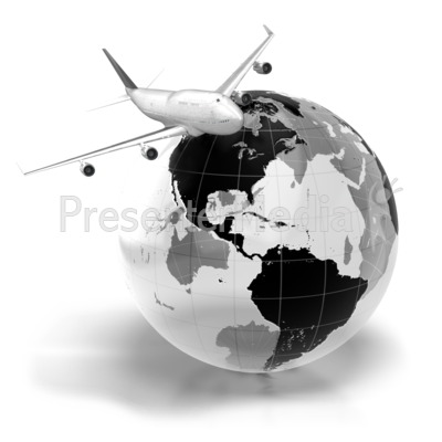 Airplane clipart across usa jpg royalty free stock Flight Across The World - Business and Finance - Great Clipart for ... jpg royalty free stock