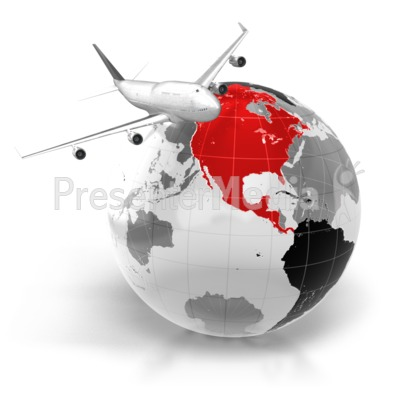 Airplane clipart across usa clip art transparent library Flight To North America - Business and Finance - Great Clipart for ... clip art transparent library
