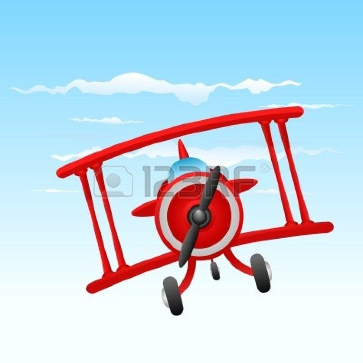 Airplane clipart chalk clipart freeuse library Red Biplane Clipart Blue biplane clipart vintage | CK Theme ... clipart freeuse library