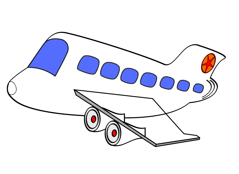 Airplane clipart facing left clip art free Free Airplane Cartoon Png, Download Free Clip Art, Free Clip Art on ... clip art free