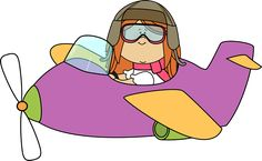 Airplane clipart girly clip freeuse stock 70 Best colorful clipart images in 2016 | Clip art, School clipart ... clip freeuse stock