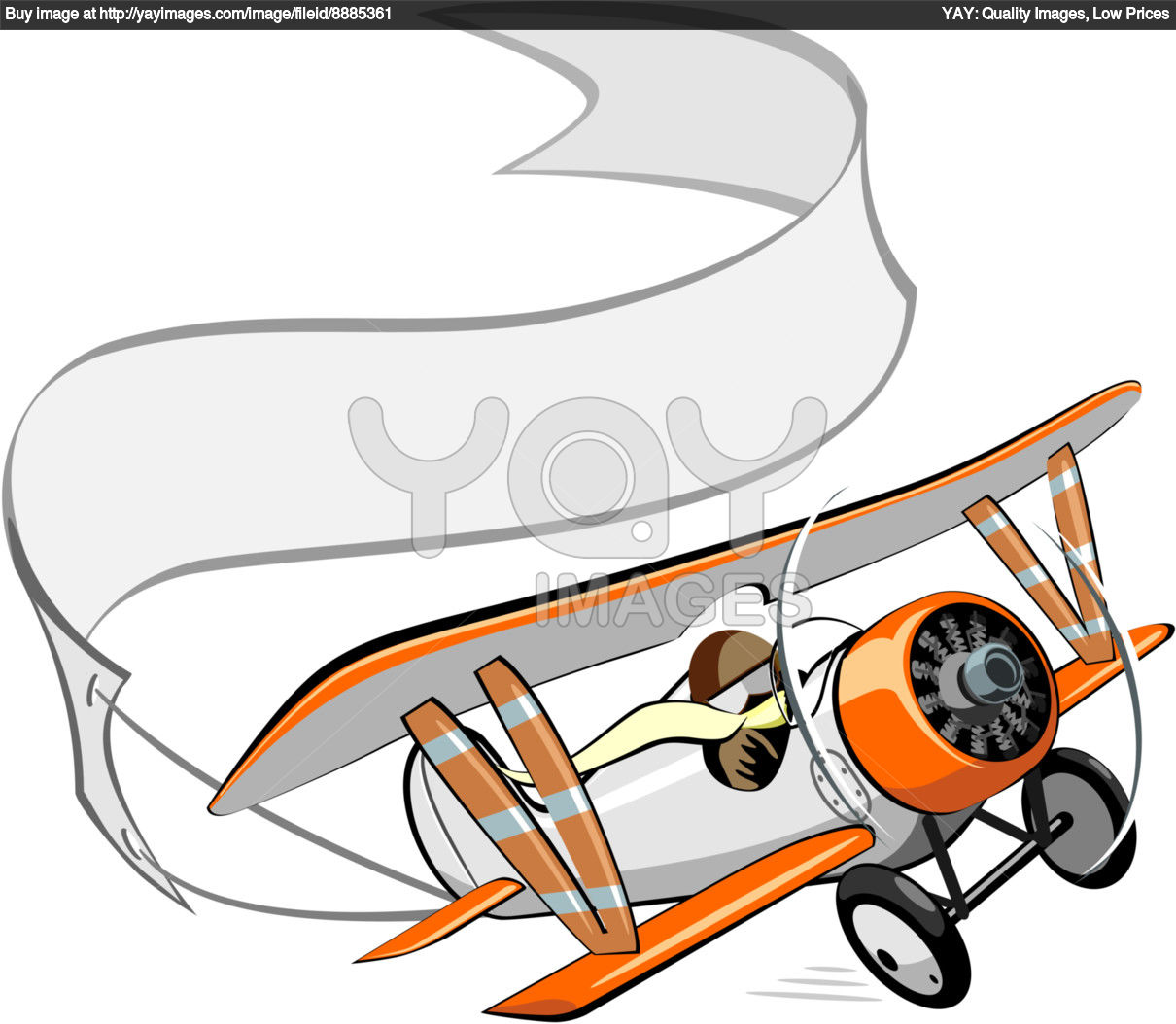 Airplane clipart with banners vector transparent download Airplane With Banner Vector | Free download best Airplane With ... vector transparent download