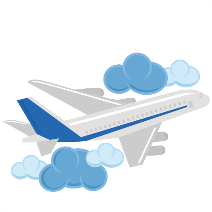 Airplane clouds clipart svg royalty free Download Airplane Svg Cute Clipart, Clipart Images, Silhouette ... svg royalty free