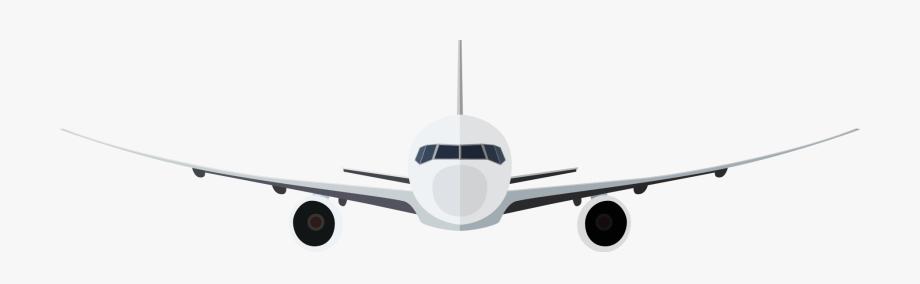 Airplane front clipart png library Airplane Clip Art - Aeroplane Front View Png #9966 - Free Cliparts ... png library
