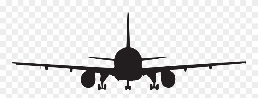 Airplane front clipart png stock Airplane Silhouette Clip Art Png Imageu200b Gallery - Aeroplane ... png stock