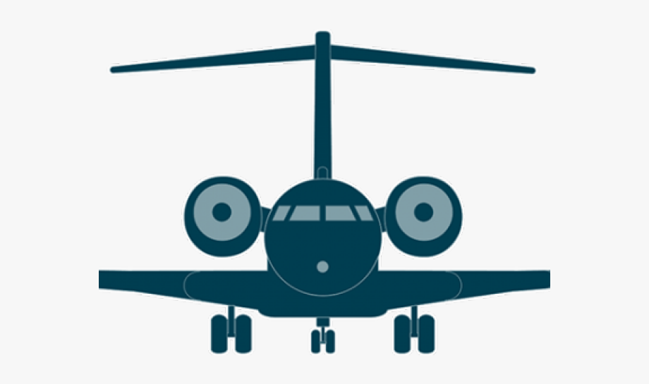 Airplane front clipart transparent download Flight Clipart Fast Plane - Png Front Airplane Icon , Transparent ... transparent download