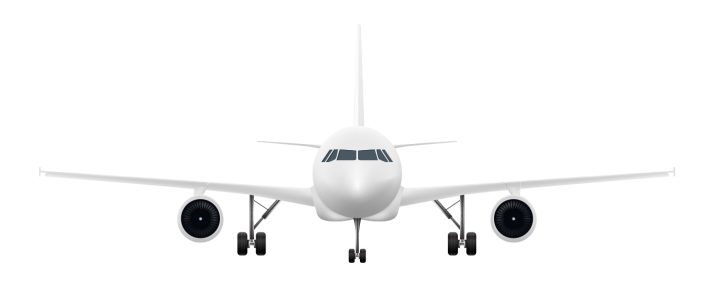 Airplane front clipart vector transparent stock Airplan Front view PNG   HD Airplan Front view PNG Image Free Download vector transparent stock