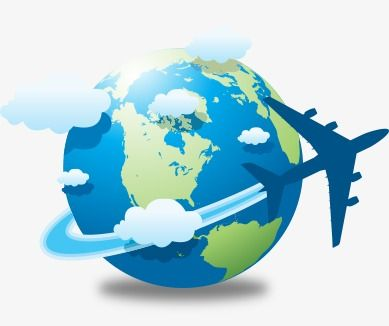 Airplane globle clipart clip free Earth And Airplane, Earth Clipart, Airplane Clipart, Aircraft PNG ... clip free