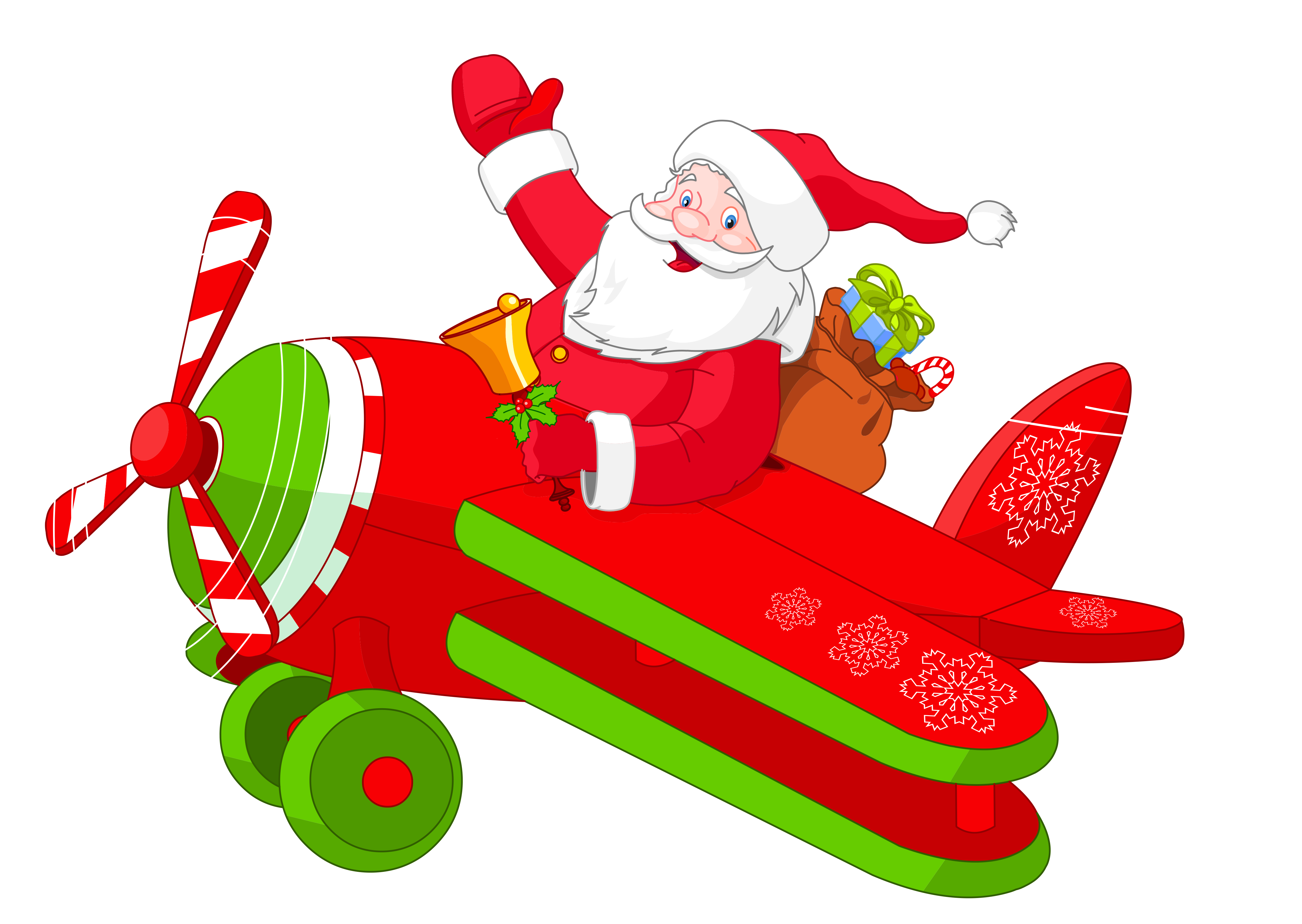 Airplane heart clipart svg transparent Santa with Airplane PNG Clipart | Gallery Yopriceville - High ... svg transparent