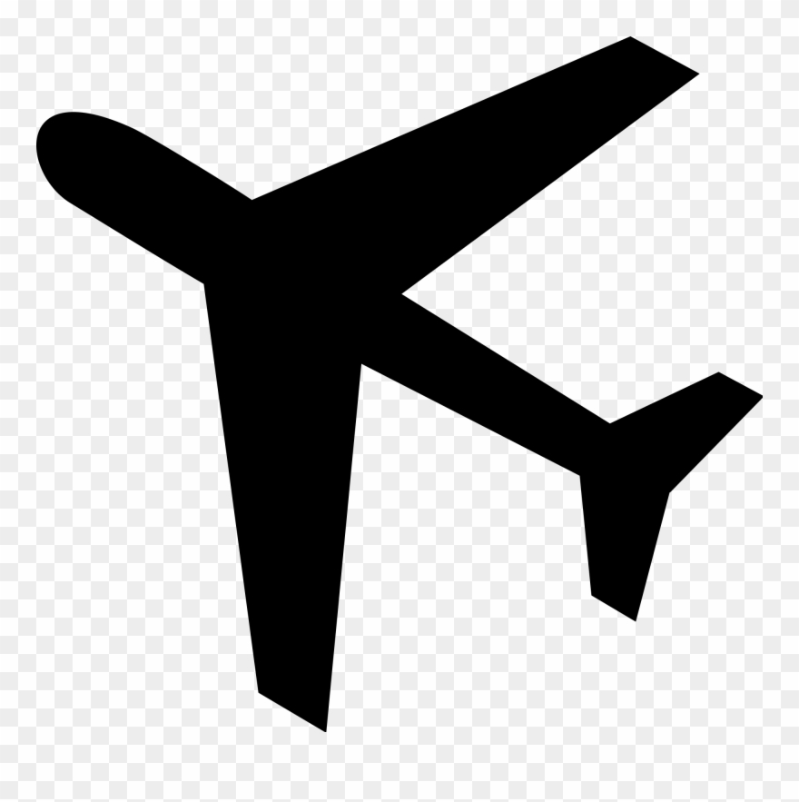 Airplane icon clipart image black and white download Cool Planes - Plane Icon Clipart (#782682) - PinClipart image black and white download