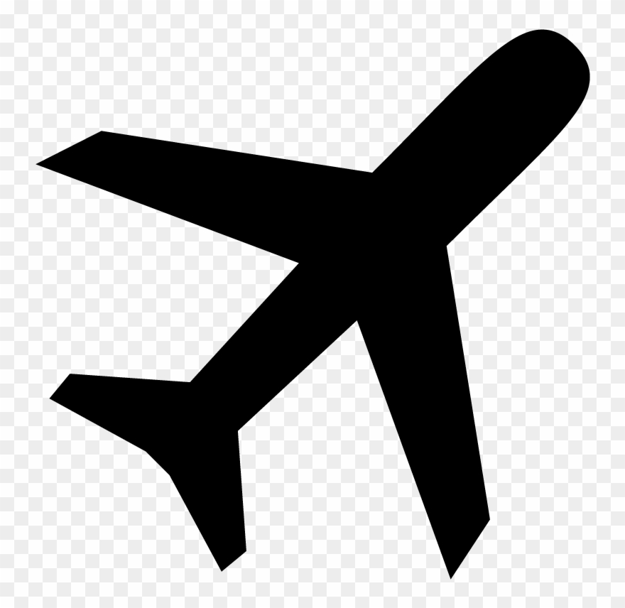 Airplane icon clipart graphic library stock Airplane Flight Plane Icon Symbol Vector Free Vector Clipart ... graphic library stock