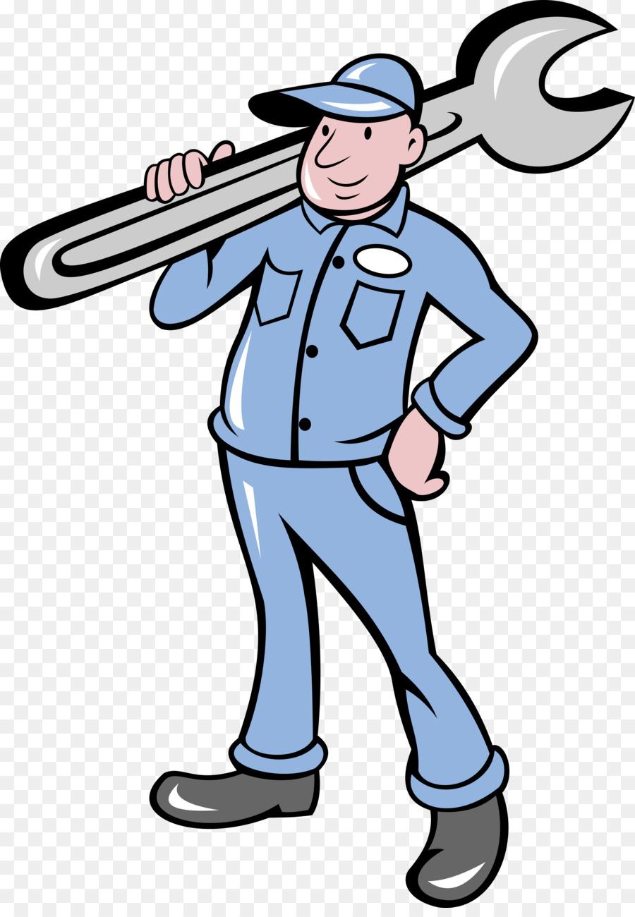 Airplane mechanic clipart free clip download Cartoon Cartoon clipart - Plumber, Mechanic, Hand, transparent clip art clip download