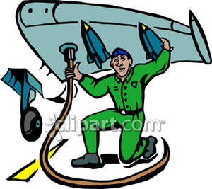 Airplane mechanic clipart free vector royalty free download Airplane Mechanic Clipart - Free Clipart vector royalty free download