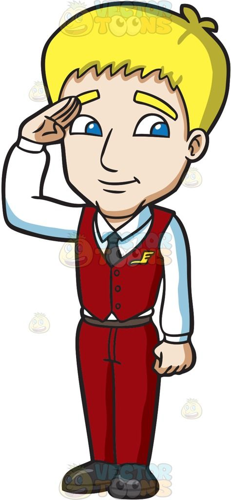 Airplane passenger blonde clipart png royalty free download A male flight attendant salutes to greet the passengers : A man with ... png royalty free download