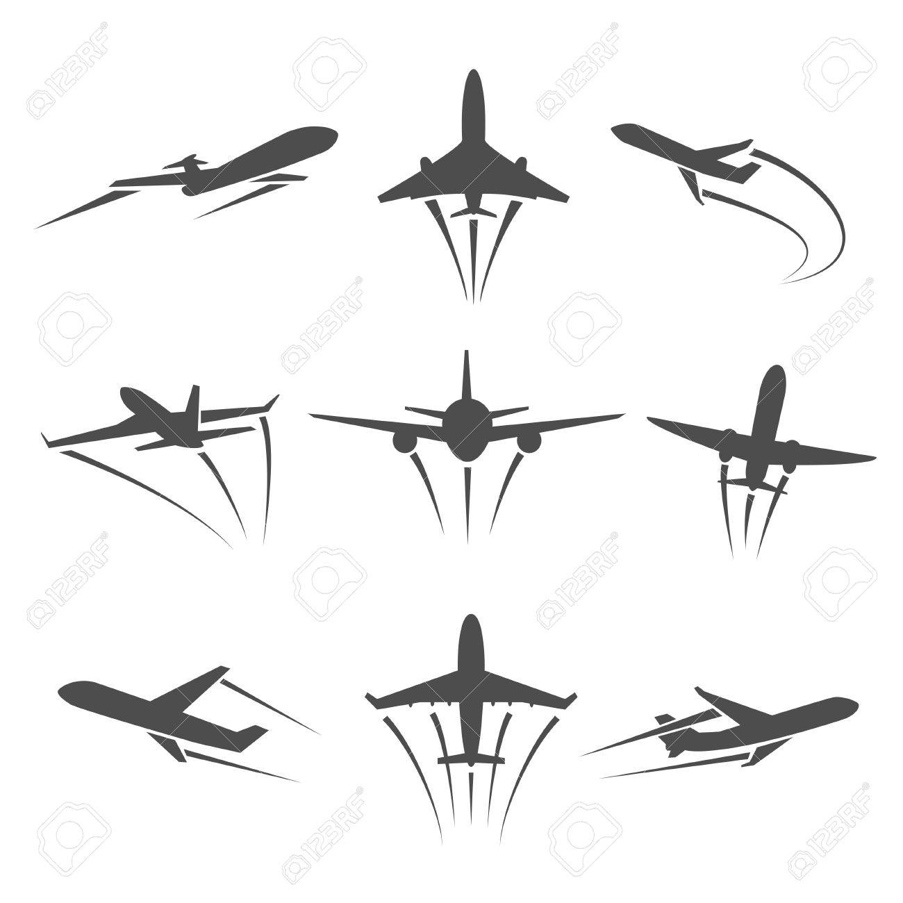 Airplane path clipart picture 14 cliparts for free. Download Airplane clipart road trail and use ... picture