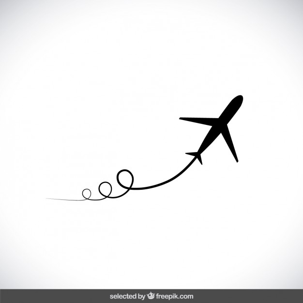 Airplane path clipart clipart Flight Vectors, Photos and PSD files | Free Download clipart