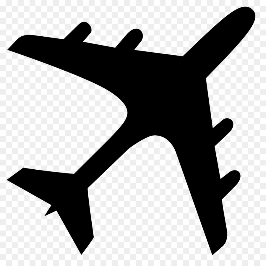Airplane problem clipart image library library Airplane Silhouette png download - 1024*1024 - Free Transparent ... image library library