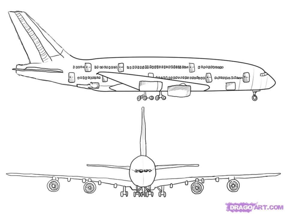 Airplane side view drawing clipart vector library download Free Aeroplane Drawing, Download Free Clip Art, Free Clip Art on ... vector library download