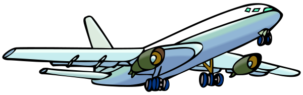 Free clipart images of airplanes. File airplane svg wikimedia