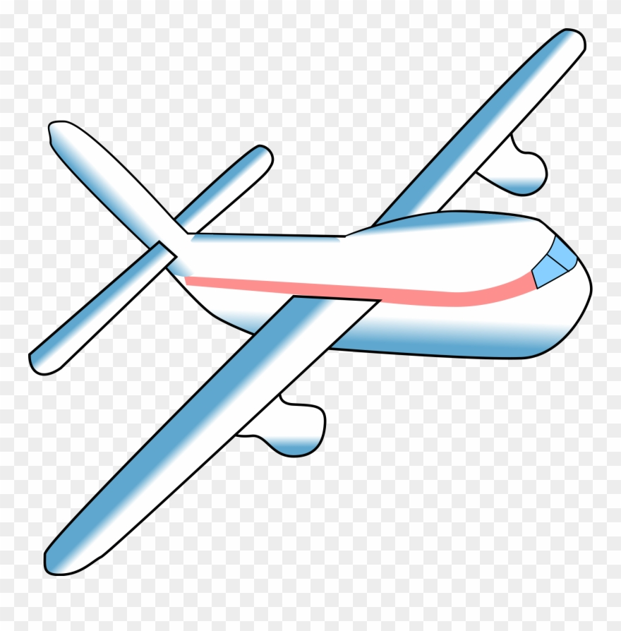 Airplane svg clipart picture black and white library File Airplane Svg Wikimedia Commons Open - Airplane Gif No ... picture black and white library