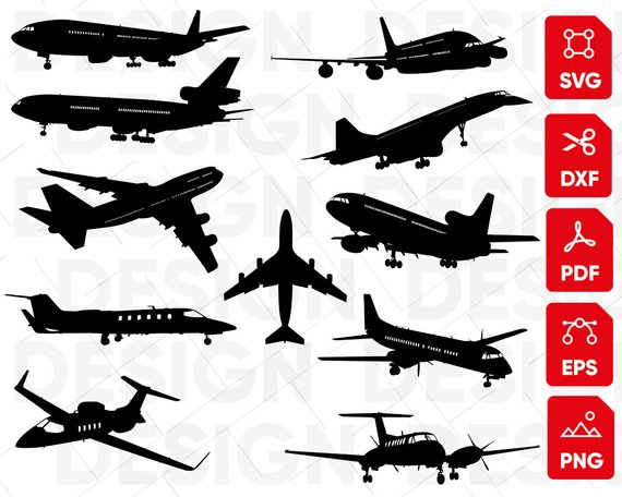 Airplane svg clipart vector royalty free stock Aircraft svg, plane svg, airplane svg, airplane clipart ... vector royalty free stock
