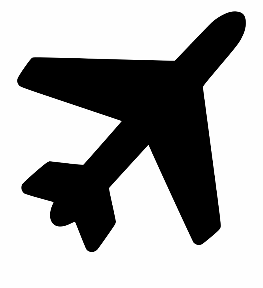 Airplane svg clipart jpg black and white stock Travel Plane Airplane Svg Png Icon Free Download - Airplane Icon Png ... jpg black and white stock