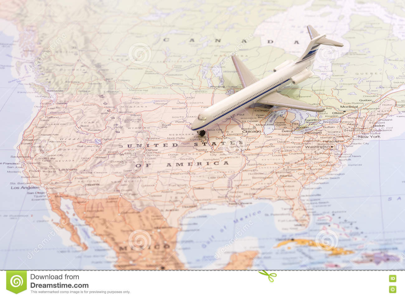airplane to us clipart map #15
