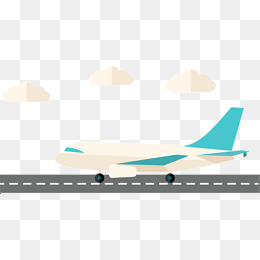 Airplane tracks clipart banner transparent download Aircraft Runway, Aircraft, Track, Cartoo #91634 - PNG Images - PNGio banner transparent download