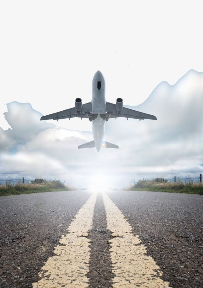 Airplane tracks clipart svg freeuse download Aircraft Taking Off And Runway Clouds, Aircraft Taking Off, Track ... svg freeuse download