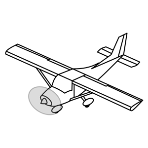 Airplane with tail wheel clipart black and white graphic black and white download Small Plane Cliparts | Free download best Small Plane Cliparts on ... graphic black and white download