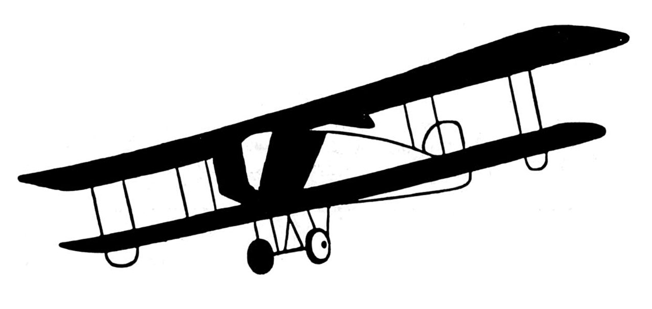 Airplanes frame clipart jpg library stock Vintage Clip Art - Black and White Airplanes - The Graphics Fairy jpg library stock