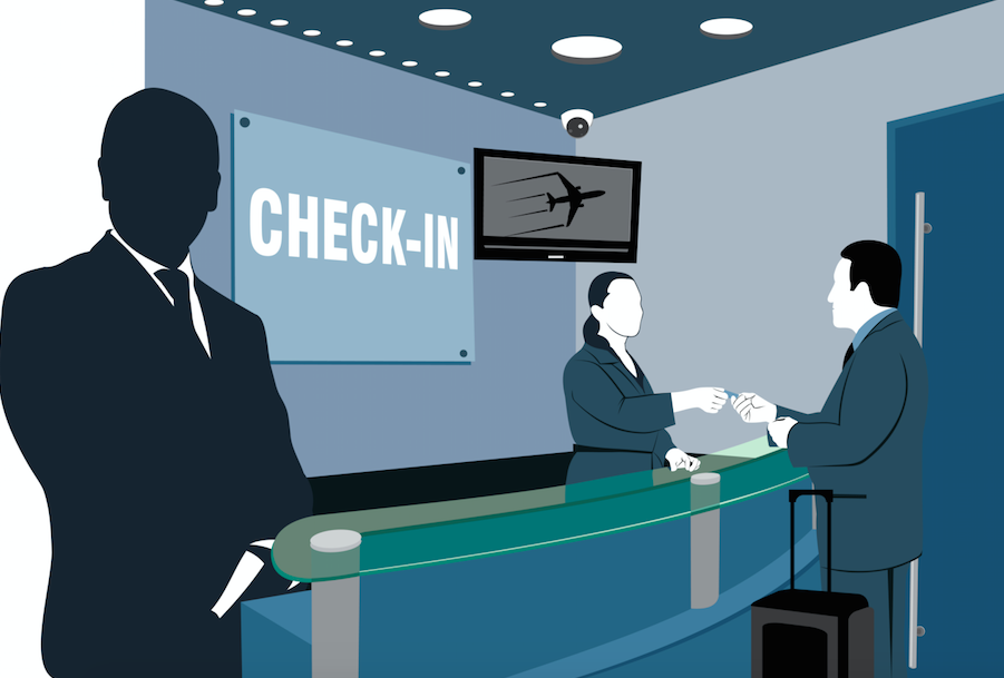 Airport checkin clipart clipart freeuse stock The TSA\'s Discriminatory Policies Against Trans People Are Even ... clipart freeuse stock