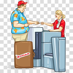 Airport checkin clipart graphic library stock Baggage Airport check-in Boarding pass Airline, Travel transparent ... graphic library stock