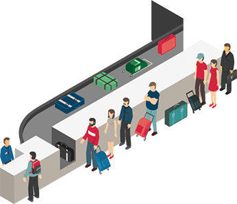 Airport passenger clipart clipart royalty free library Aislelabs | Passenger Flow Analytics for Airports clipart royalty free library