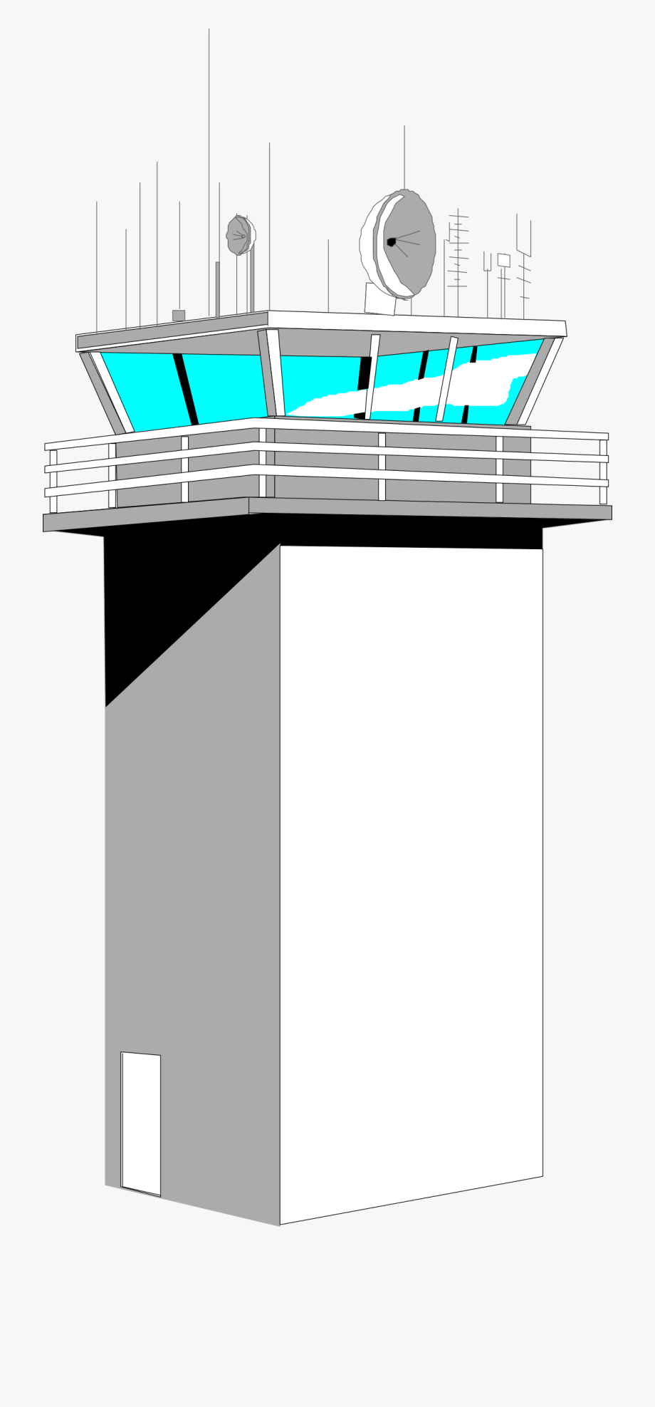 Airport tower clipart royalty free Airport Control Big Image Png Ⓒ - Air Traffic Control Tower Clipart ... royalty free