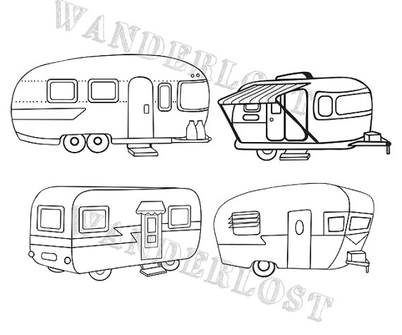 Airstream logo clipart clipart library Vintage Campers Airstream Shasta Trailer Clip Art Vector Graphic PNG ... clipart library
