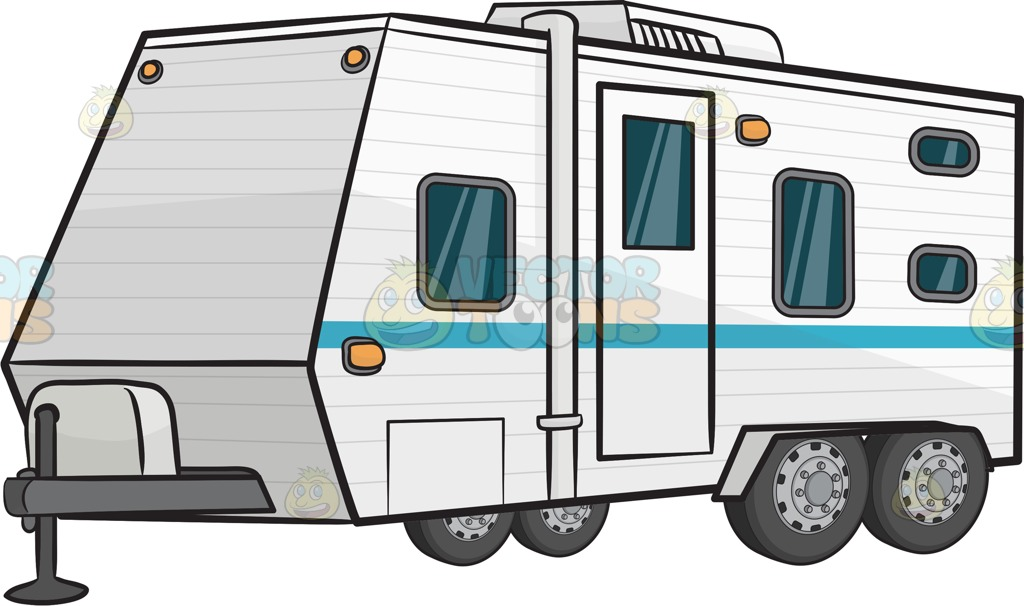 Airstream trailer clipart banner freeuse Free Travel Trailer Cliparts, Download Free Clip Art, Free Clip Art ... banner freeuse