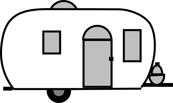 Airstream trailer clipart picture freeuse library Airstream Clipart #1 | Doodles | Camper drawing, Camper clipart ... picture freeuse library