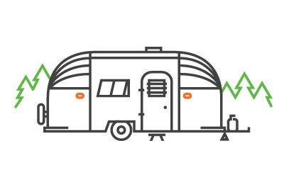 Airstream logo clipart image free download Pin by september .15 on illustration. | Camper drawing, Airstream ... image free download