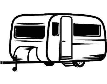 Airstream trailer clipart clipart royalty free download Camper Clipart | Free download best Camper Clipart on ClipArtMag.com clipart royalty free download