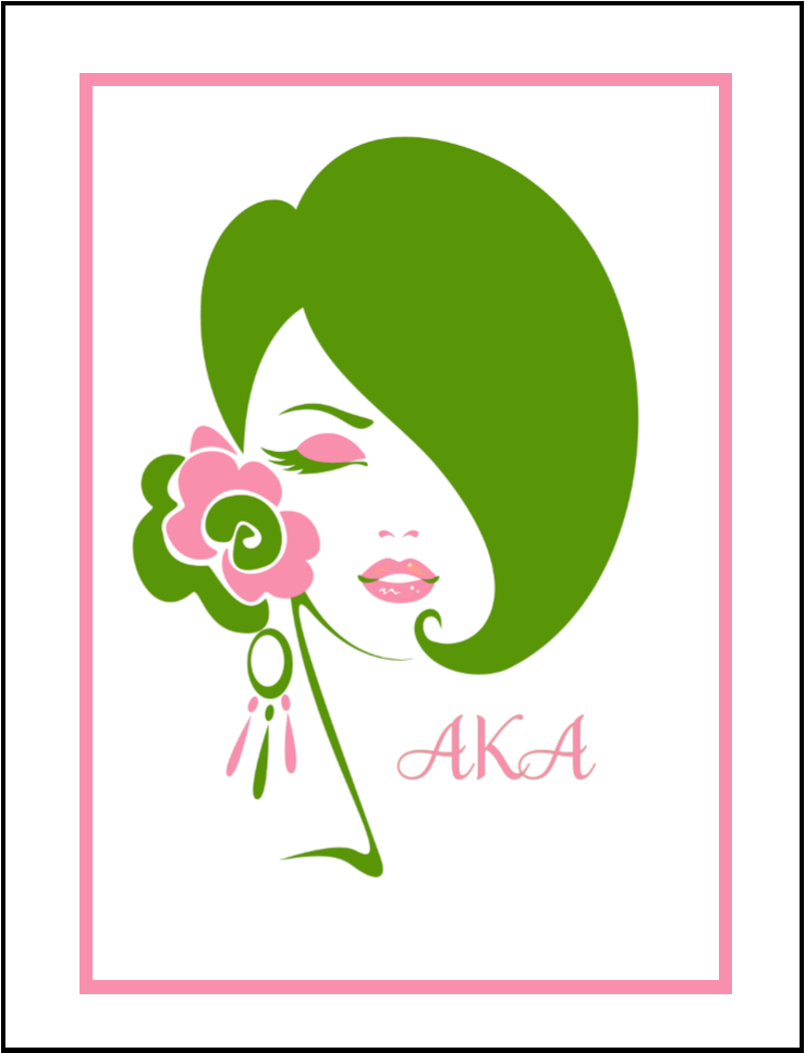 Aka lady clipart graphic library library Aka Sorority Clipart Collection Cricut Explore Clip - Alpha Kappa ... graphic library library