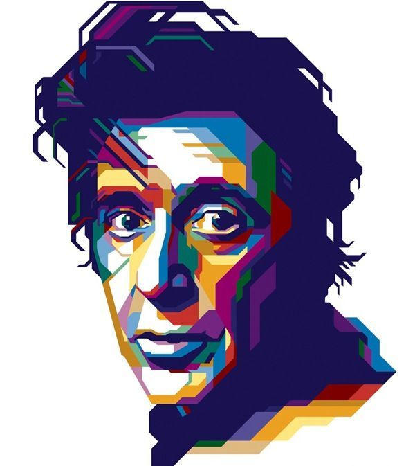 Al pacino clipart clip art royalty free library Famous Graphic Illustrators | Pinned by Harma Hommad ... clip art royalty free library