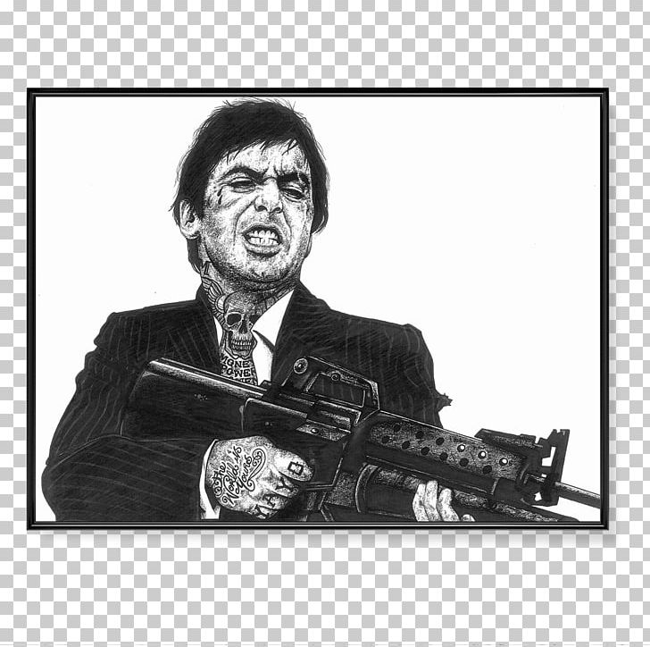 Al pacino clipart jpg black and white stock Al Pacino Scarface Tony Montana YouTube Poster PNG, Clipart, Al ... jpg black and white stock